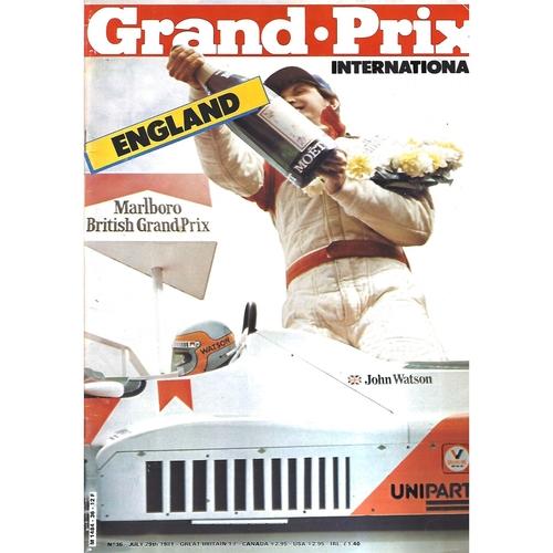 Grand Prix International Magazine Issue Number 036