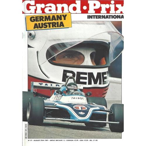 Grand Prix International Magazine Issue Number 037