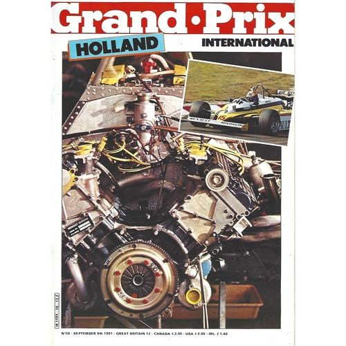 Grand Prix International Magazine Issue Number 038