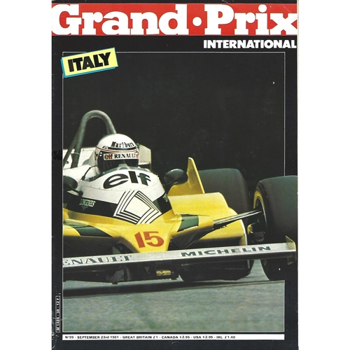 Grand Prix International Magazine Issue Number 039