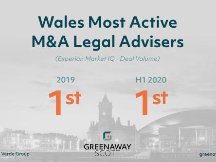 Greenaway Scott names as Most Active M&A Legal Team