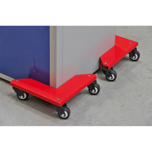 Corner Transport Dollies Set of 4 - 150kg Capacity - Sealey - CM4