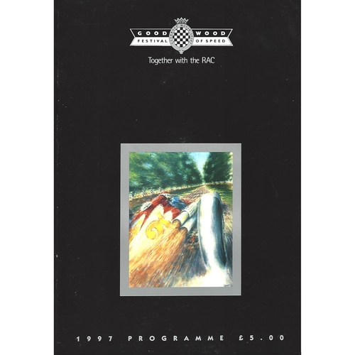 1997 Goodwood Festival of Speed Programme