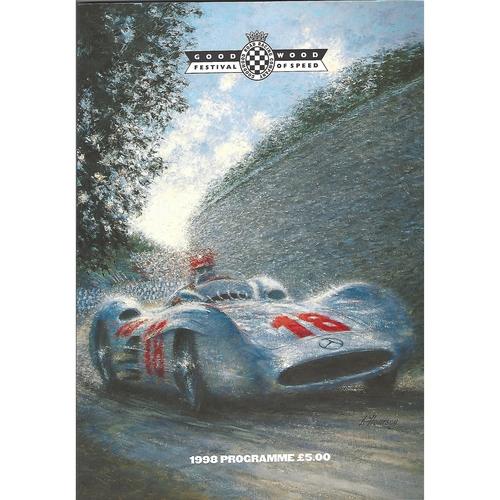 1998 Goodwood Festival of Speed Programme