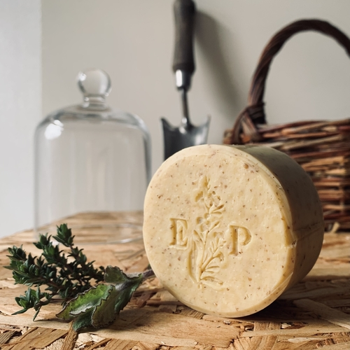 English Mint and Rye Kitchen Garden Soap