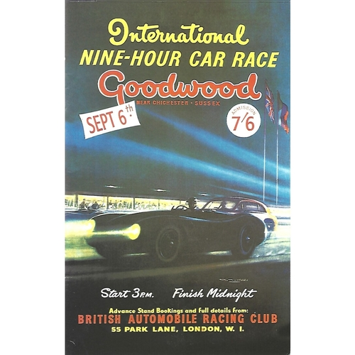 2002 Goodwood Motor Circuit Revival Programme & Brochure