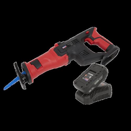 Cordless Reciprocating Saw Kit 20V 2Ah - Sealey - CP20VRSKIT1