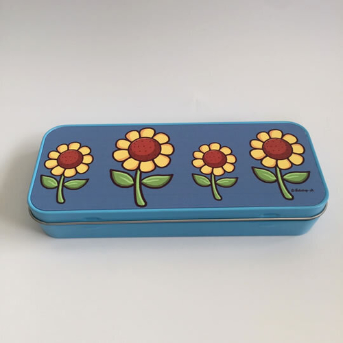 'Sunflowers' Tin