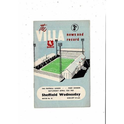 Sheffield Wednesday Away Football Programmes