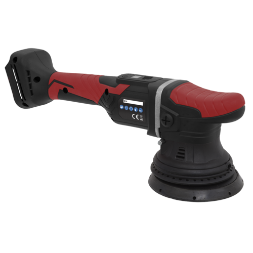 Cordless Orbital Polisher Ø125mm 20V Lithium-ion - Body Only - Sealey - CP20VOP