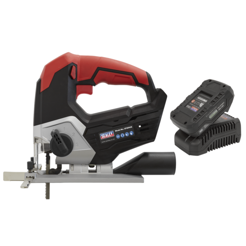 Cordless Jigsaw Kit 20V 2Ah - Sealey - CP20VJSKIT1