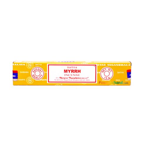 Satya Myrrh Incense Sticks