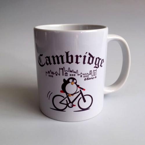 'Cambridge Cyclist' Mug