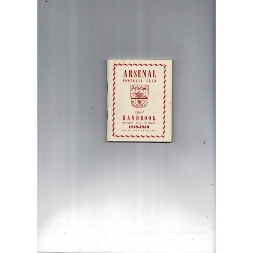 Arsenal Official Football Handbook 1949/50