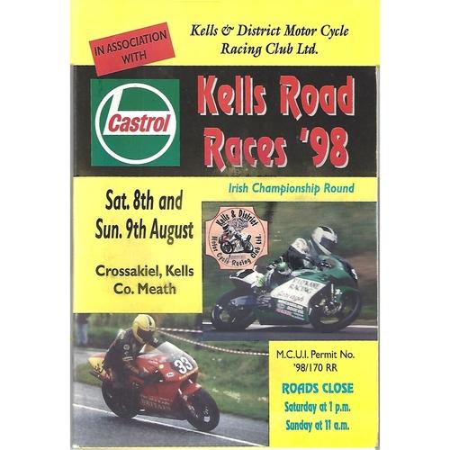Kells Motor Cycle Racing Programmes