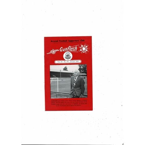 Arsenal Gunflash Vol 14 No. 145 April 1963