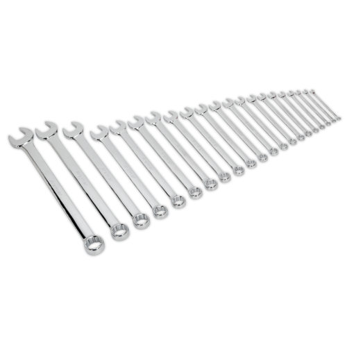 Combination Spanner Set 21pc Jumbo Metric - Sealey - AK6083