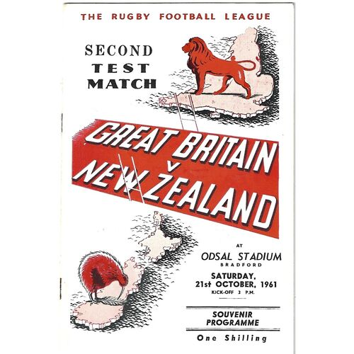 New Zealand Rugby League Programmes