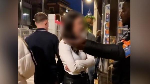 Racist abuse of Birmingham pub doorman investigated