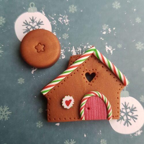 Scandi Gingerbread House