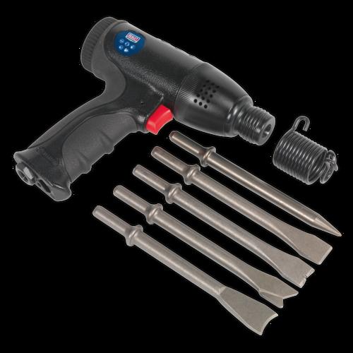 Air Hammer Kit Composite Premier - Medium Stroke - Sealey - SA613
