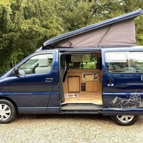 2005(55)reg Toyota Hiace D4D Camper Van 4 Berth 86127 miles 2.5TD