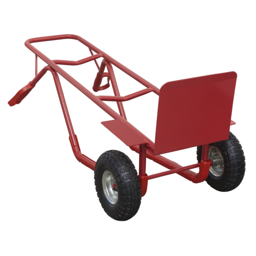 Sack Truck with Pneumatic Tyres 300kg Capacity - Sealey - CST999