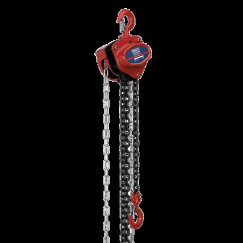 Chain Block 0.5tonne 2.5m - Sealey - CB500