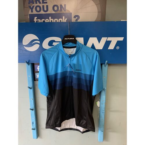 Giant rival short sleeve jersey blue/black