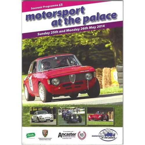 2014 Crystal Palace Motorsport at the Palace Meeting (25-26/05/2014) Motor Racing Programme