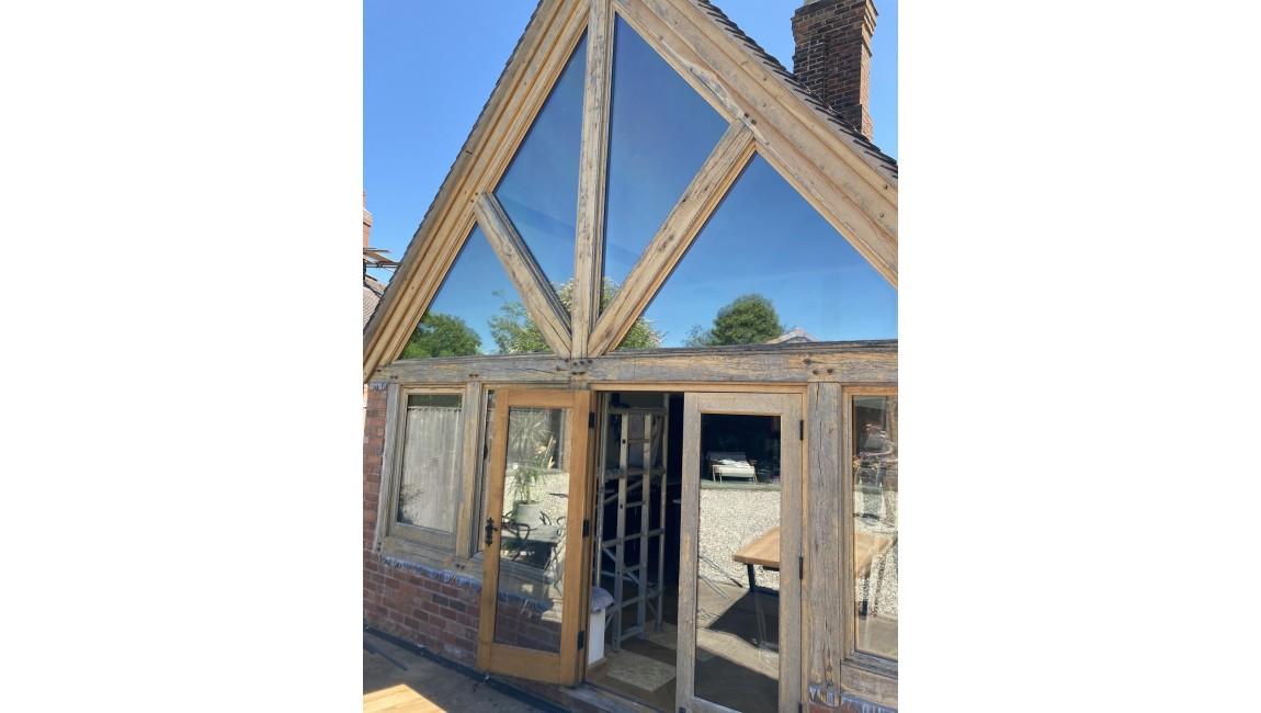 heat and glare reducing window film