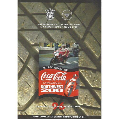 1996 International Northwest 200 Motor Cycle Racing Programme