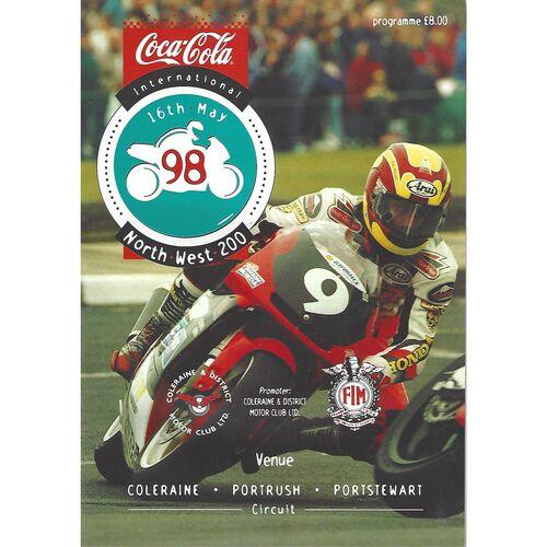1998 International Northwest 200 Motor Cycle Racing Programme
