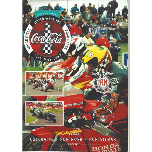 1999 International Northwest 200 Motor Cycle Racing Programme