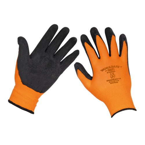 Foam Latex Gloves (Large) - Pack of 120 Pairs - 9140L/B120 - £1.21 A PAIR