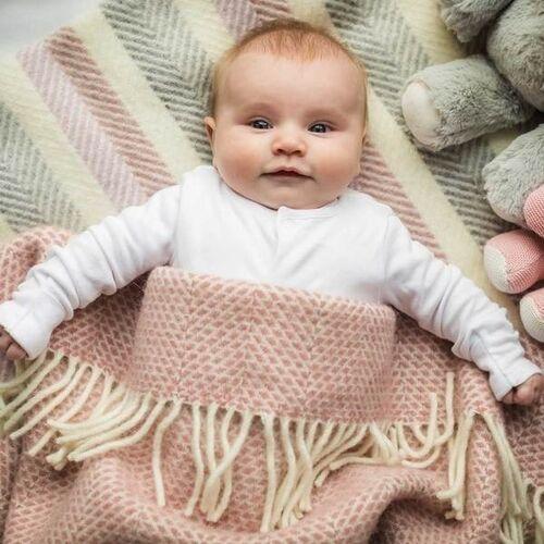 Baby blanket - wool