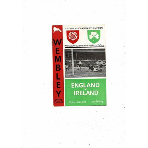 Ireland Away Football Programmes