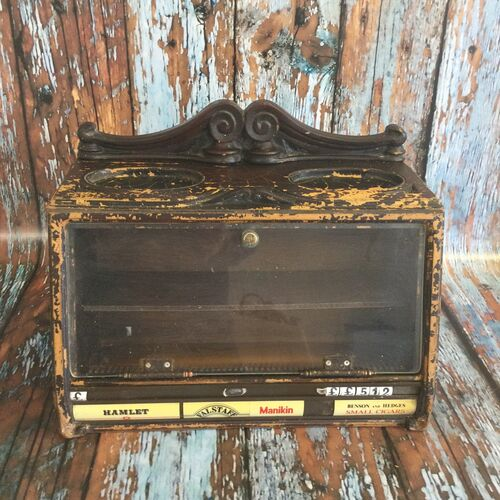 1950/1960s Counter Top Tobacconists Cabinet