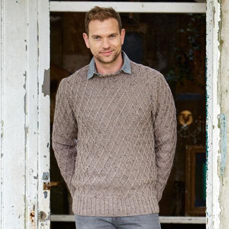 9338 Alpaca Tweed DK Pattern