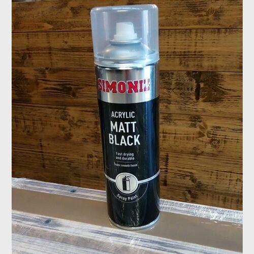 Spray Paint - Matt Black