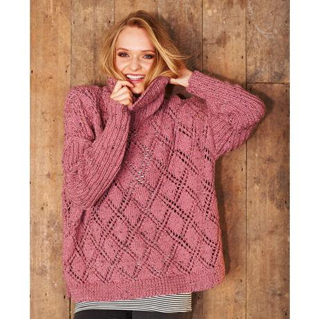 9319 Alpaca Tweed Chunky Pattern