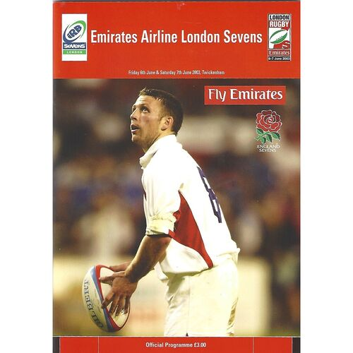 2003 London Sevens IRB World Sevens Series Rugby Union Programme