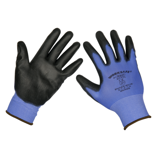 Lightweight Precision Grip Gloves (Large) - Pack of 120 Pairs - 9140L/B120