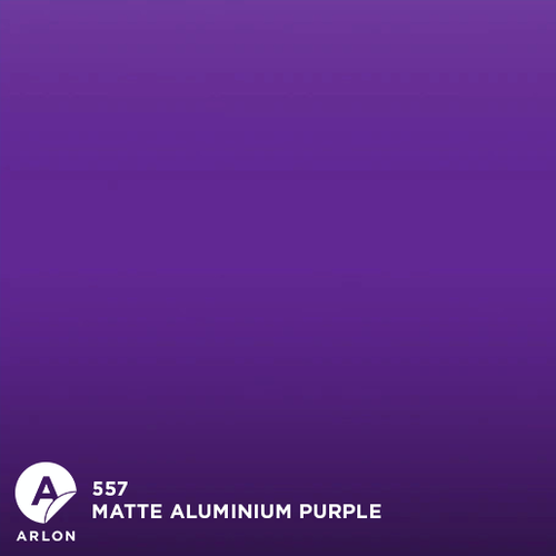 Arlon™ PCC - 557 - Matte Aluminium Purple