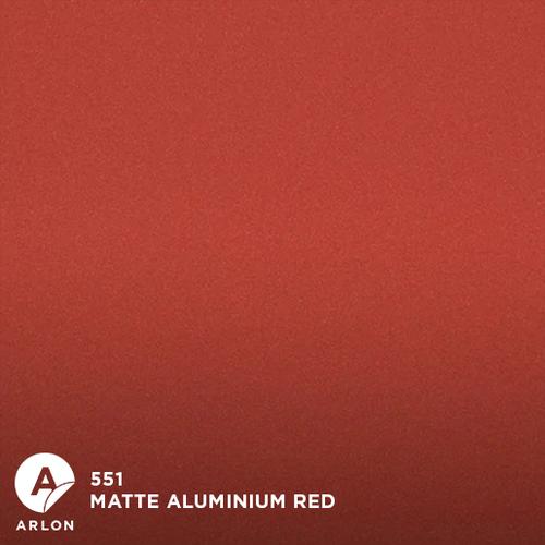 Arlon™ PCC - 551 - Matte Aluminium Red