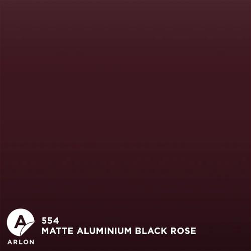 Arlon™ PCC - 554 - Matte Aluminium Black Rose