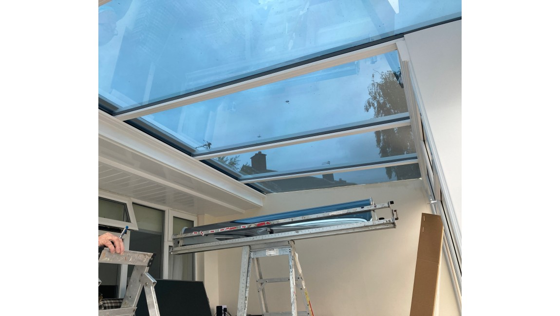 Solar Control Window film to cut down heat building up in conservatory