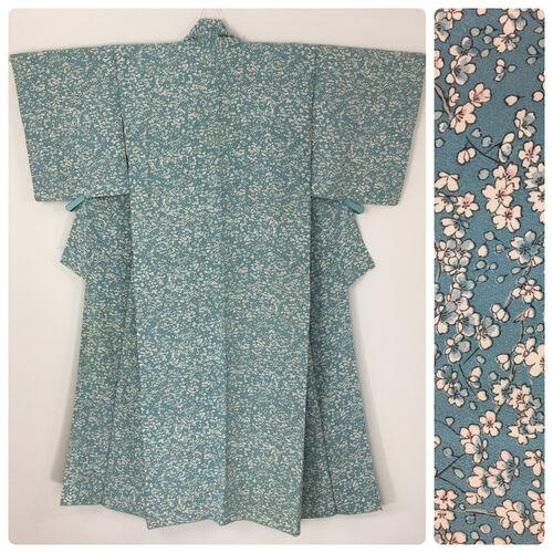 S, baby blue kimono for women