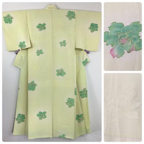 S-M, yellow kimono for women