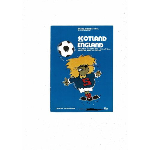 Scotland Home Football Programmes
